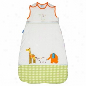 Grobag Baby Sleeping Bag Dotty Day Out 2.5 Tog, 0-6 Mos
