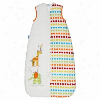 Grobag Baby Skeeping Bag Dotty Day Out 2.5 Tog, 6-18 Mos