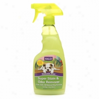 Halo,P urely For Pets Holisticlean Super Stain & Odor Remover, For Dogs