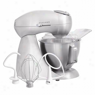 Hamilton Beach Eclectrics  All-metal Stand Mixer, Model 63220, Sterling