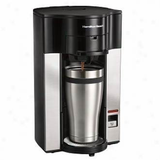 Hamilton Beach Personal Cup Stay Or Go Pod Brewer Pattern 49990
