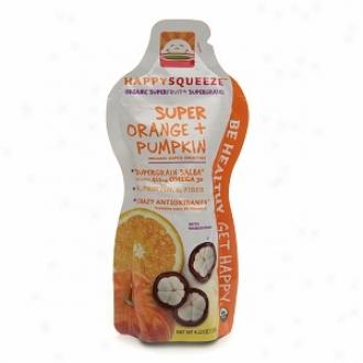 Lucky Squeeze upSer Orange + Pumpkin With Mangosteen Organic Smoothie