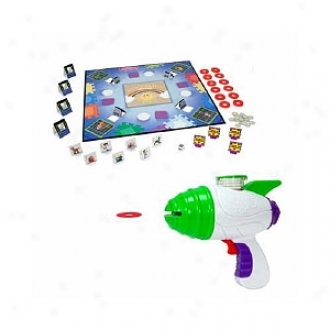 Hasbro Buzz Lightyear Space Shooter Target Game: Toy Story 3 Edition Ages 5 And Up