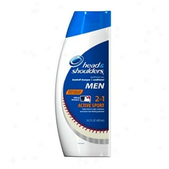 Head & Shoulders Active Sport Men 2-in-1 Dandruff Shampoo + Conditioner
