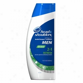 Head & Shoulders Refresh 2 In 1 Dandruff Shampoo + Condiyioner, Refresh