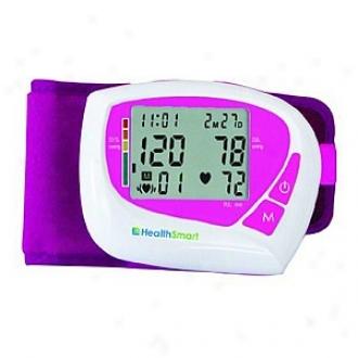 Healthqmart Premium Tzlking Automatic Wrisg Digital Blopd Pressure Monitor