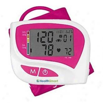 Healthsmart Wmen's Self-moving Digital Blood Pressure Monitor