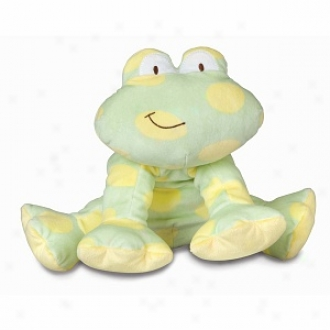 Healthy Baby Allergy Friendly Floppy Froggie, 12  Indhes, Ages 0+