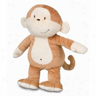 Healthy Baby Allergy Friendly Floppy Monkey, 12 Inches, Ages 0+