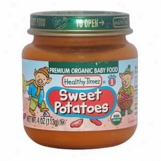 Healthy Times Premium Organic Baby Food, Sweet Potatoes, Stage 1