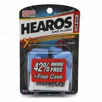 Hearos Ear Plugs Bonus Pack, Xtreme Protection Series