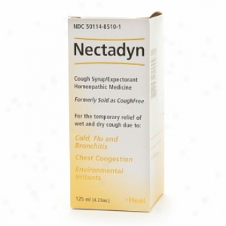 Heel Nectadyn, Homeopathic Cough Syrup/expectorant, Honey-natural Lemon Flavor