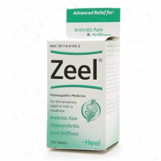 Heel Zeel, Homeopathic Arthritic Pain Relief Tablets