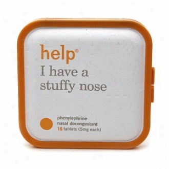 Help I Have A Stuffy Nose, 5 Mg Phenylephrine Nasal Decongestant Tablets