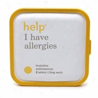 Help I Have Allergies, 10 Mg Loratadine Antihistamine Tablets