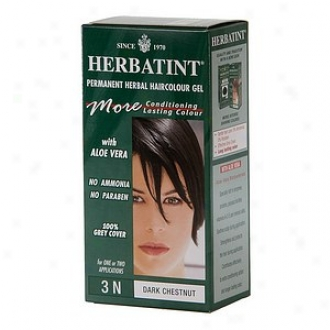 Herbatint Permanent Herbal Haircolor Gel , 3n-dark Chestnut