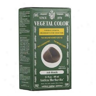Herbatint Vegetal Semi-permanent Herbal Haircolor Gel, Ash Blonde