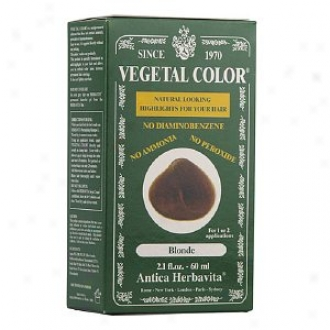 Herbatint Vegetal Semi-permanent Herbal Haircolor Gel, Blonde