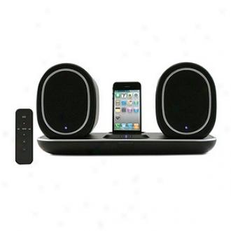 Hipstreet Iphone Ipod Dockiing Wireless Indooroutdoor Speaker System, Black