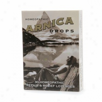 Historical Remedies Homeopathic Arnica Drops Repair And Relief Lozenges, Citrus