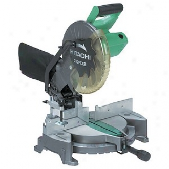 Hitachi Power Tools 10  Compound Miter Saw With Laser Marker C10fch2