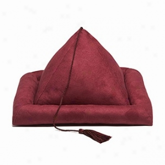Hog Wild Softt Peeramid Shaped Bookrest, Burgundy