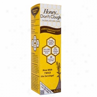 Honey Don't Cough Children's Buckwheat Honey Supplement 20 Liqui-paks