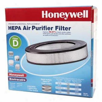 Honeywell D -  Premium Universal Replacement Hepa Appearance Purifier Filter, Model Hrf-d1