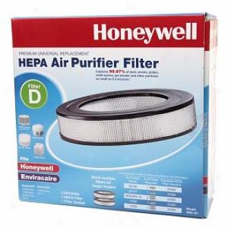 Honeywell D -  Premium Universal Replacement Hepa Appearance Purifier Filter, Model Hrf-d1