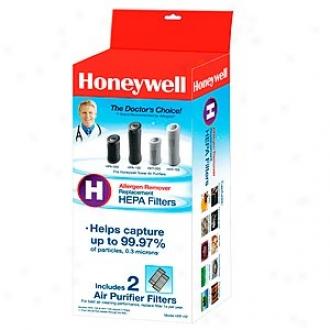 Honeywell True Hepa Replacement Percolate - 2 Pack, Model Hrf-h2