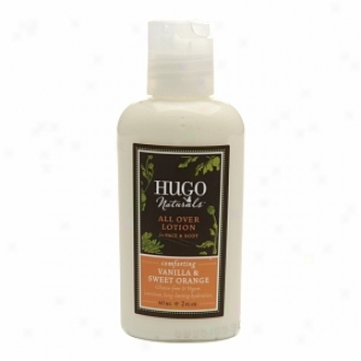 Hugo Naturals All Over Body Lotion, Comfforting Vanilla & Sweet Orange