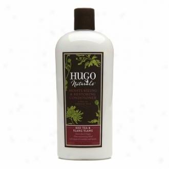 Hugo Naturals Moisturizing & Restoring Conditioner, Red Tea & Ylang Ylang
