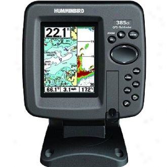 Hummjnbird 385c Color Fishfinder With Internal Gps Model 407680-1