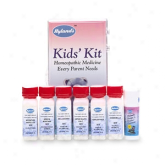 Hyland's Homeopathic Kid's Kit, 7 Single Remedies