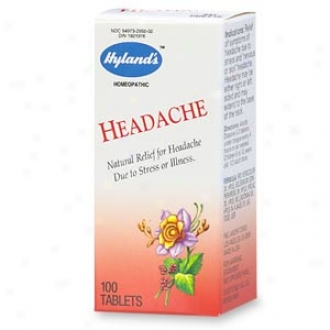 Hyland's Natural Relief Headache Tablets