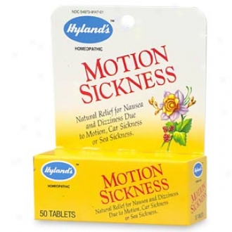 Hyland's Natural Relief Motion Sickness Tablets