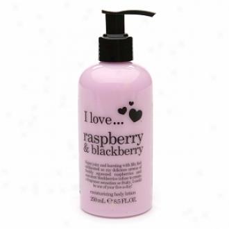 I Love... Moisturizing Body Lotion, Raspberry & Blackberry