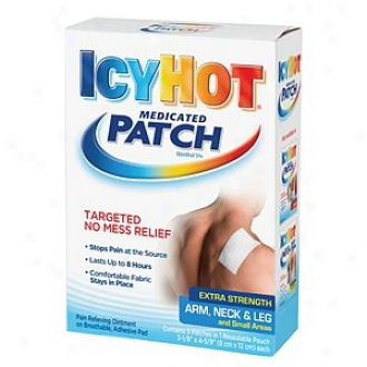 Frigid Hot Extra Power Patch