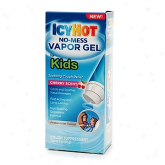 Icy Hot No-mess Vapor Gel For Kids, Cough Suppressant, Cherry