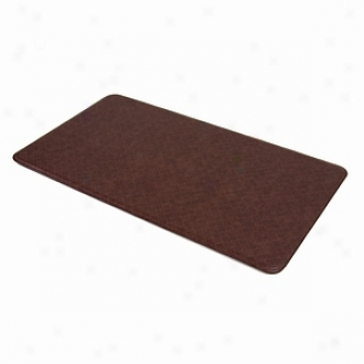 Imprint By Sublime Anti Fatigue Comfory Mat, Nantucket Series, 20 X 36, Cinnamon