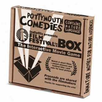 Indieflix Film Festival In A Box: Potty Mouth Comedies, Ages 17+