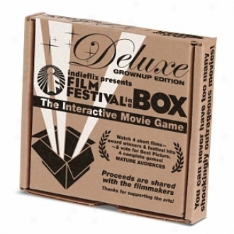 Indieflix Film Festiival In A Box: The Interactive Movie Game, Deluxe Edition, Grown Ups/ma