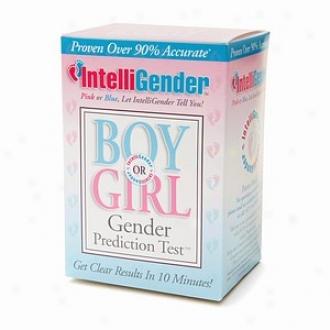 Intelligender Gender Prediction Tesst