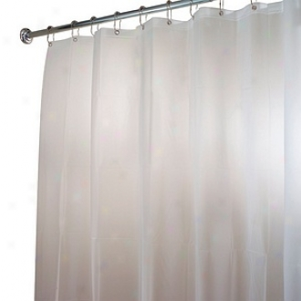 Interdesing Itouch Shwer Curtain Or Liner!  Xwide 108x72 Inches