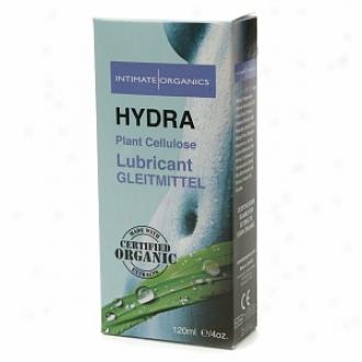 Intimate Organics Hydra: Plant Crllulose Lubricant,  Glycerine Free, Water-based