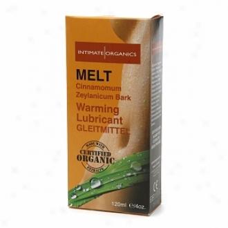 Intimate Organics Melt: Cinnamomum Zeylanicum Bark Warming Lubricant