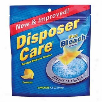 Iron Out/lime Out Disposer Care Plus Bleach Alternative, Garbage Disposal Cleaner, Lemon