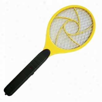 Itouchless Battery Powered Portable Power Bug Zapper Swatter