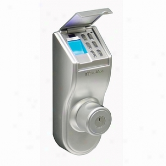 Itouchless Bio-matic Deadbolt Fingerprint Passage Lock Universai