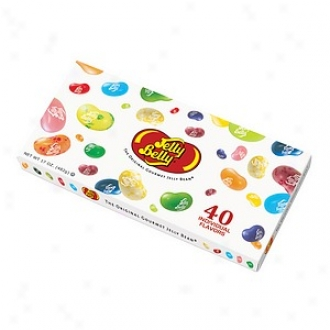 Jelly Beoly Gourmet Jelly Bean Gift Box, 40 Assorted Flavors